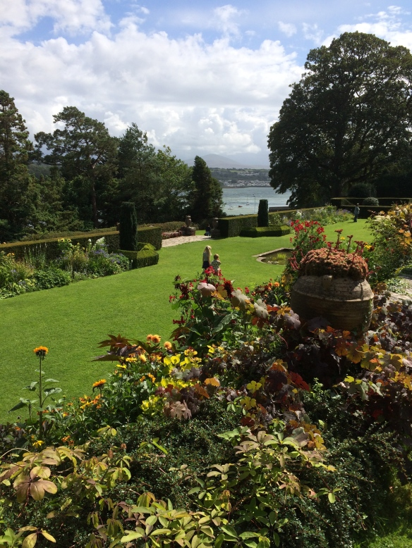 Garden at Plas Newyyd Anglesea