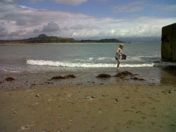 Sea at Cricceth North Wales