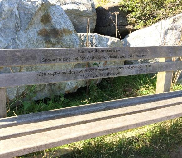 memory bench robin hood's bay
