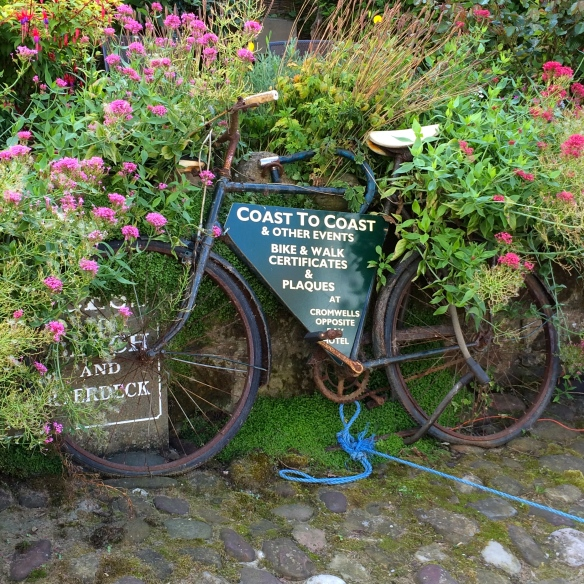 old bike at robin hood's bay