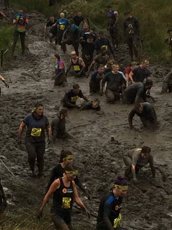 total warrior 14 in the mud