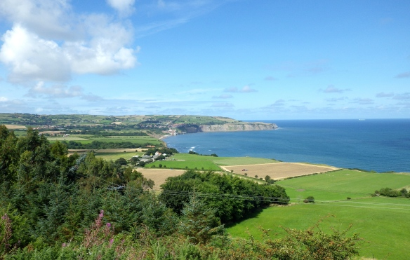 Coastline from Ravenscar