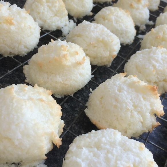 coconut haystacks or macaroons